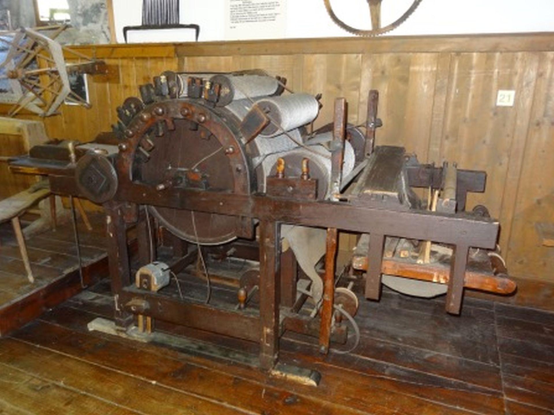 Kardiermaschine von