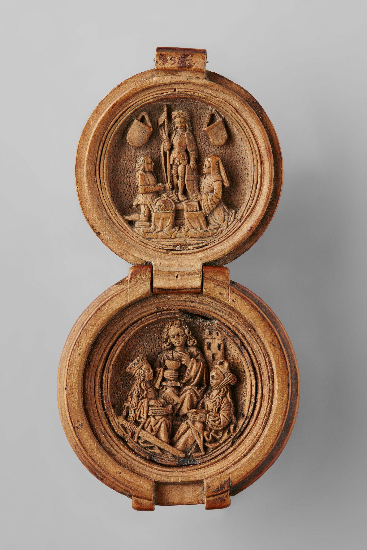 Gebetsnuss der Maria von Burgund von