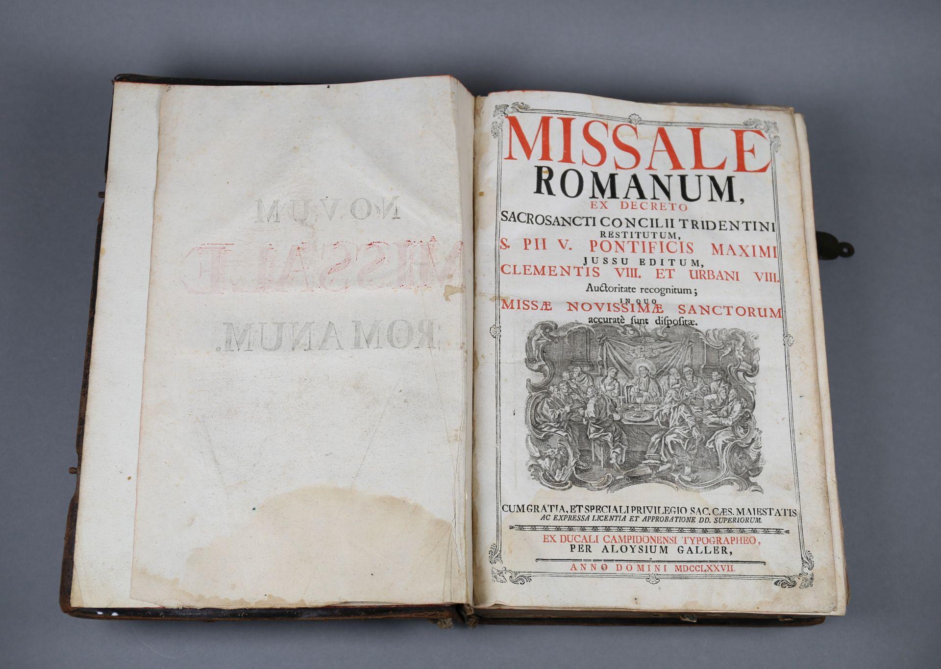 Messbuch von