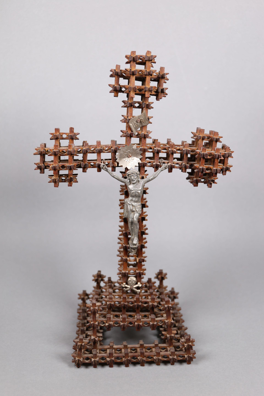 Kruzifix von russische Kriegsgefangene