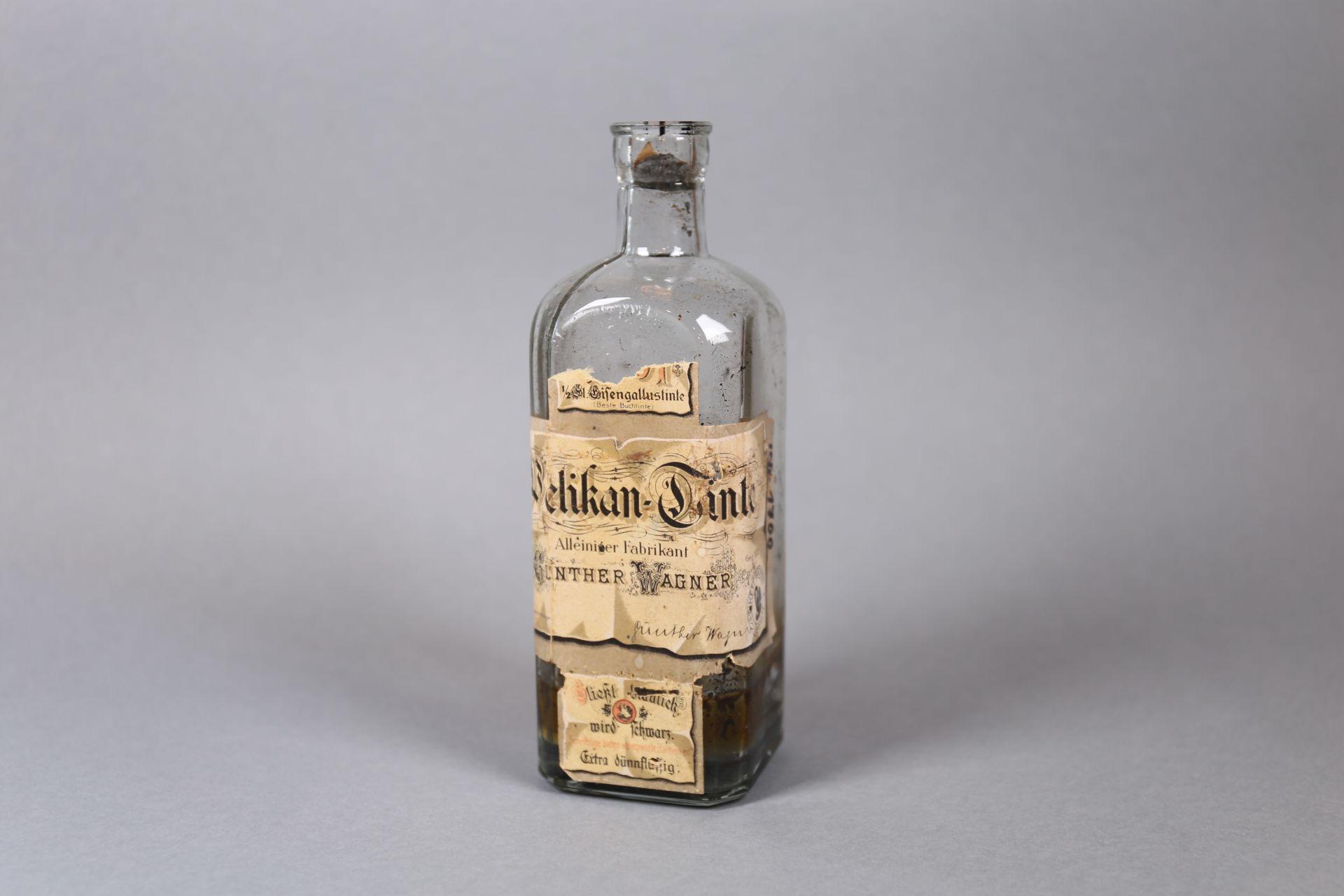 Tintenflasche von Günther Wagner