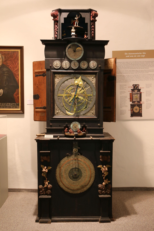 Astronomische Uhr von Johann Bapt. Ölperl/Matthias Fiederer