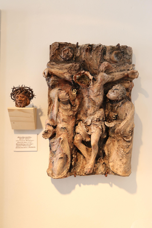 Kreuzigungsgruppe von Vinzenz Schreiner