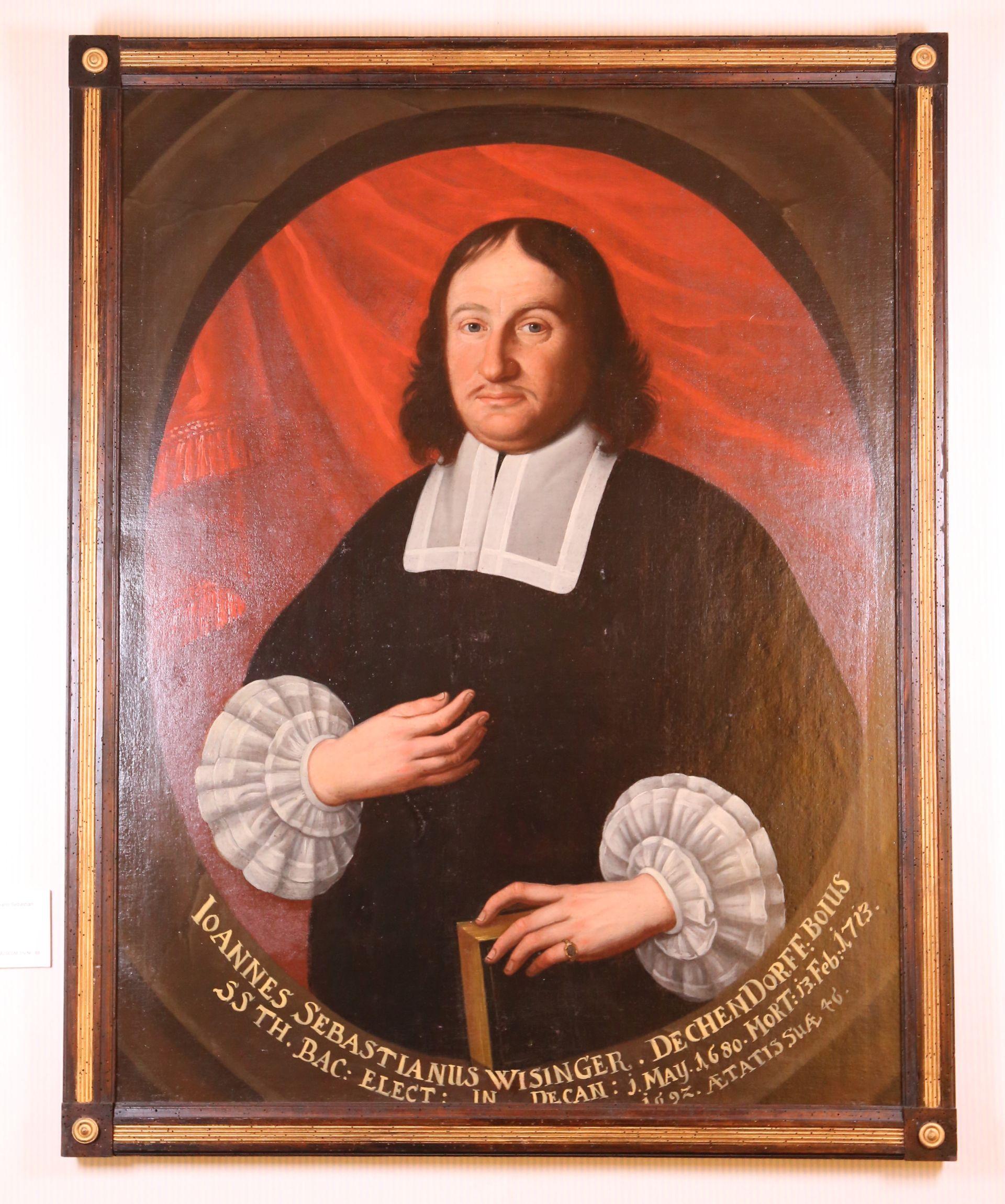 Portrait Johann Sebastian Wisinger  von