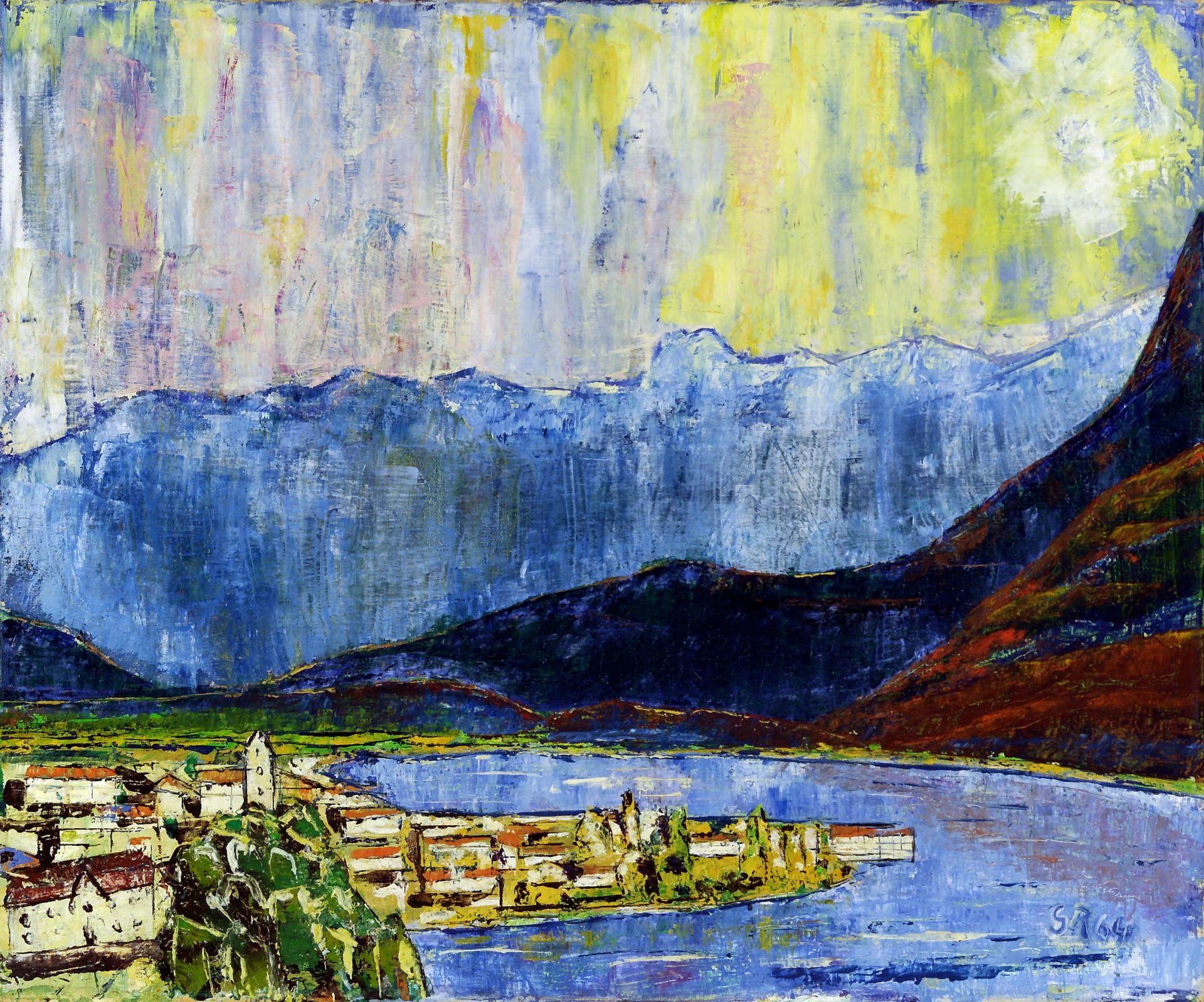Gemälde: Zell am See von Georg Rendl